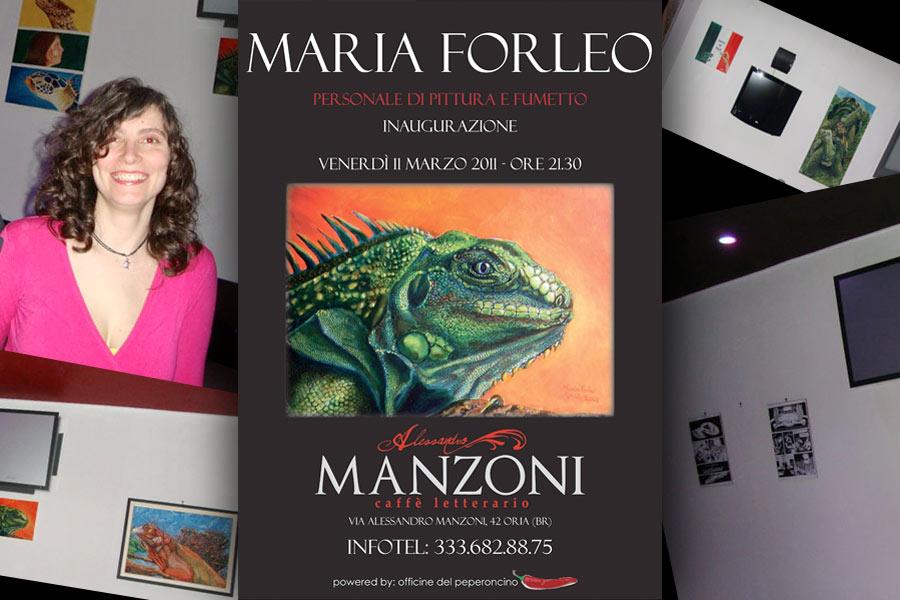 You are currently viewing Personale al Caffè Letterario Manzoni