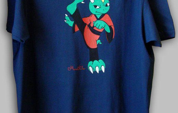 Kung-Fu, T-shirt Dragoline