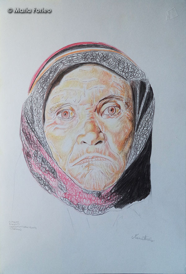 Ritratto di donna Berbera