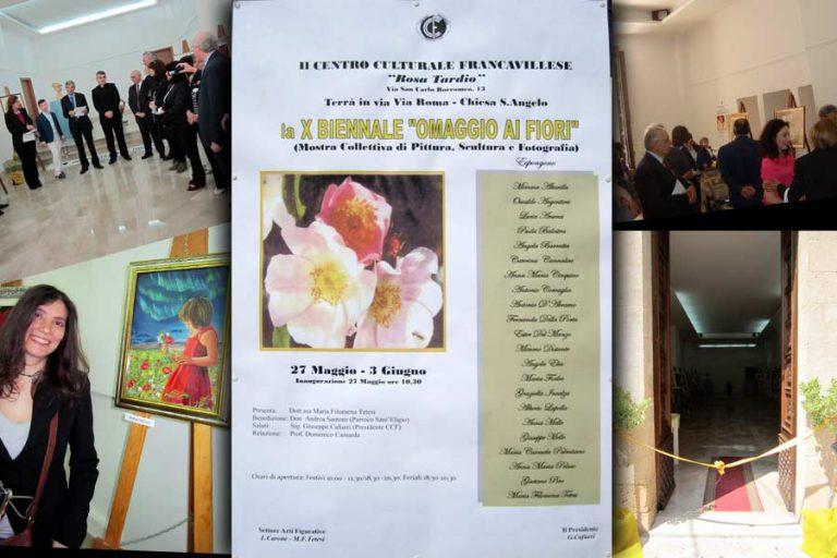 """Read more about the article X BIENNALE """"Omaggio ai fiori"""" 2012"""