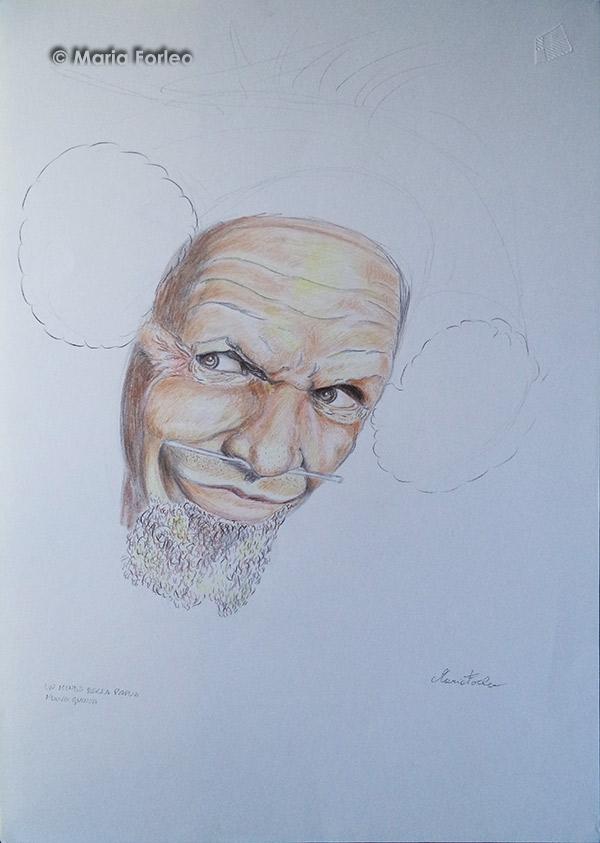 Ritratto di Mende della Papua