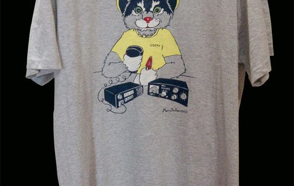 Micio Radioamatore, t-shirt