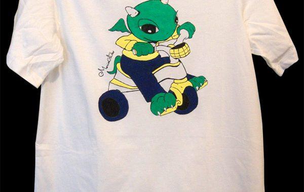 Draghetto su triciclo, T-shirt DragoLine