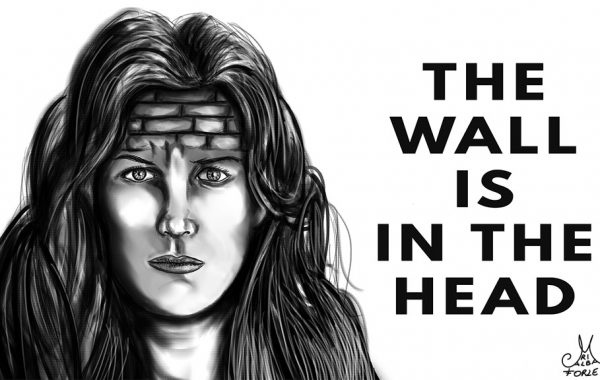 The wall is in the Head