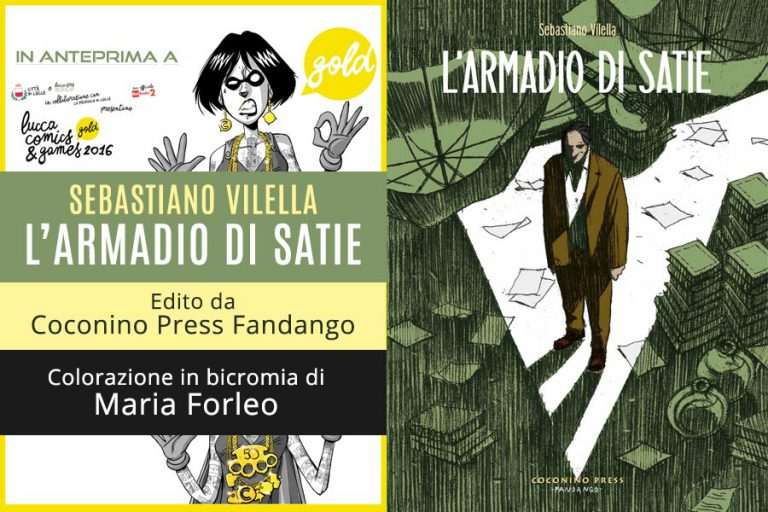 Read more about the article L'Armadio di Satie in anteprima a Lucca Comics&Games