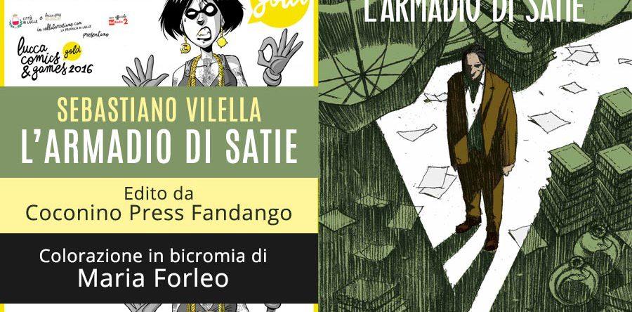 L'Armadio di Satie in anteprima a Lucca Comics&Games
