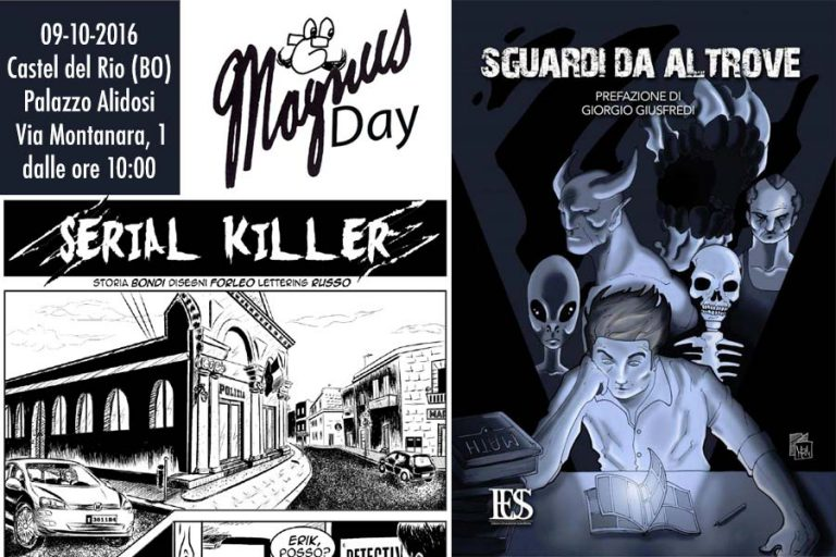 """Read more about the article """"Serial killer al Magnus Day"""" 9-10-2016"""
